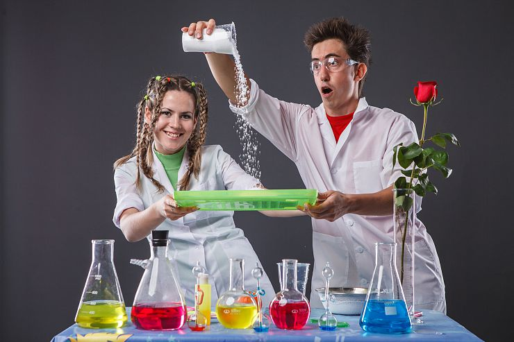 картинки про химические опыты створки