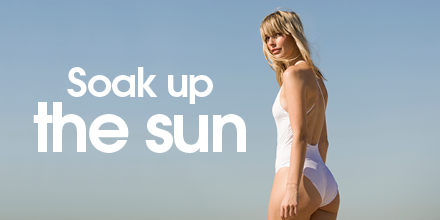 Did you know? A day in the sun can boost your mood and make you happy! Coincidentally, so can the perfect swimsuit. 👙#Summeressentials https://t.co/ujGDSjEhzs https://t.co/rTHzsdjhWP