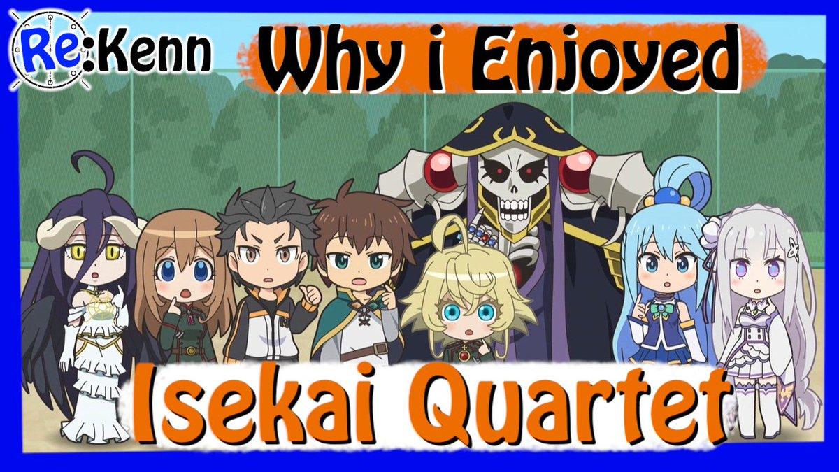 isekai_quartet hashtag on Twitter