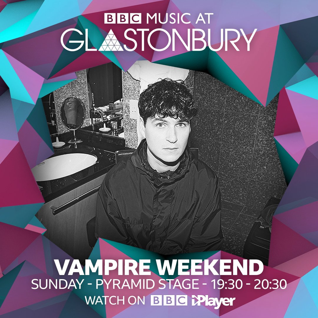 Live from @GlastoFest tonight at 7:30pm BST. Watch it here: bbc.co.uk/iplayer #Glastonbury2019