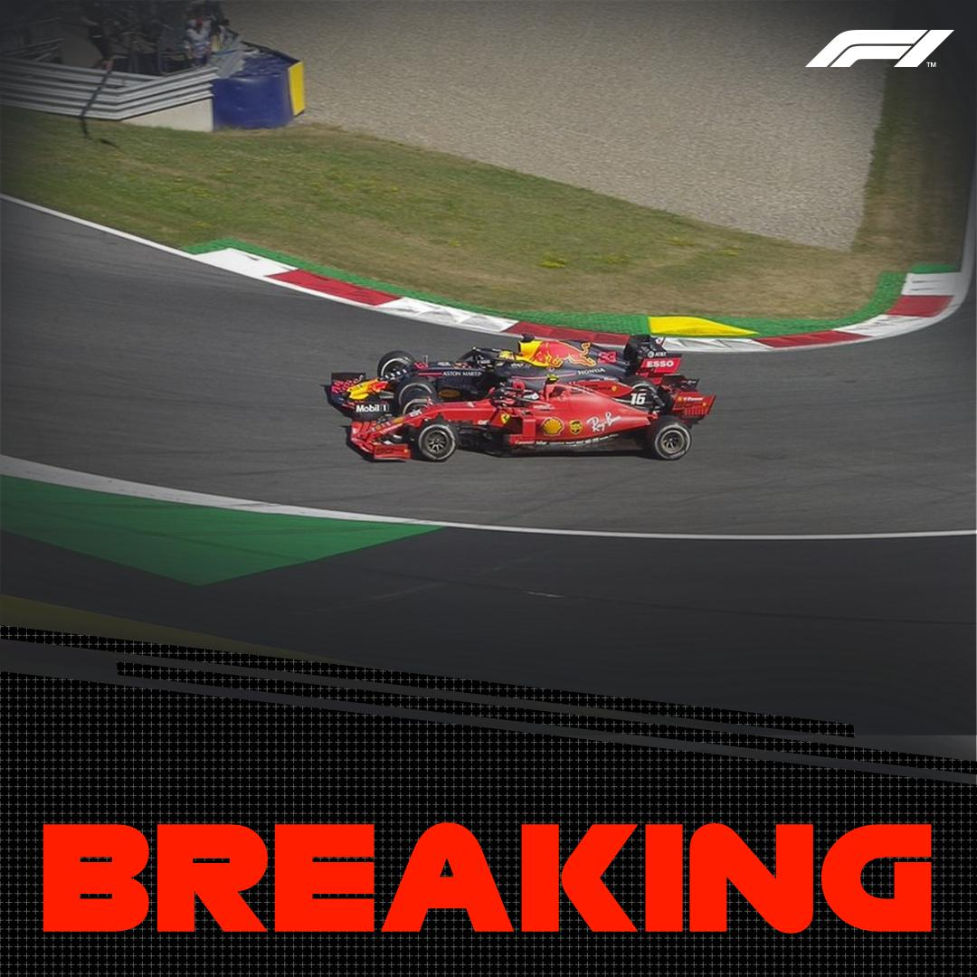 BREAKING:  No further action on the Lap 69 incident between Verstappen and Leclerc for the race lead  Verstappen keeps the race win  #AustrianGP 🇦🇹 #F1