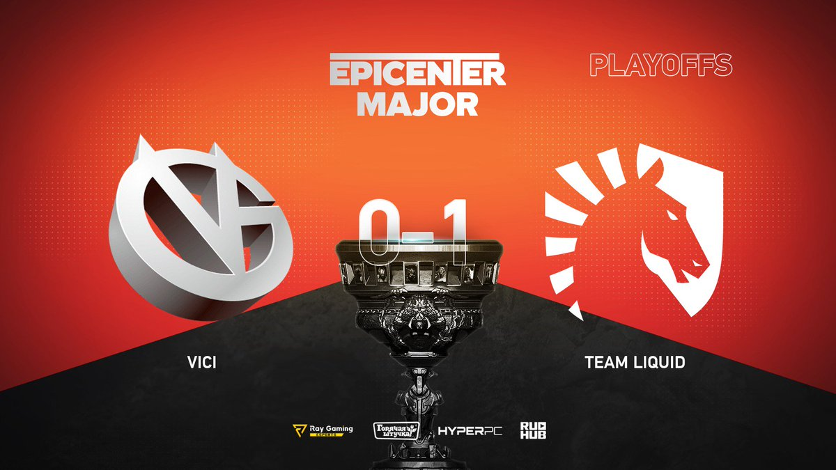 Vici Gaming vs Team Liquid EPICENTER Major 2019