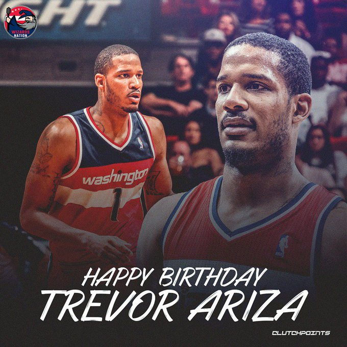 Join Wizards Nation in wishing Trevor Ariza a happy 34th birthday!
