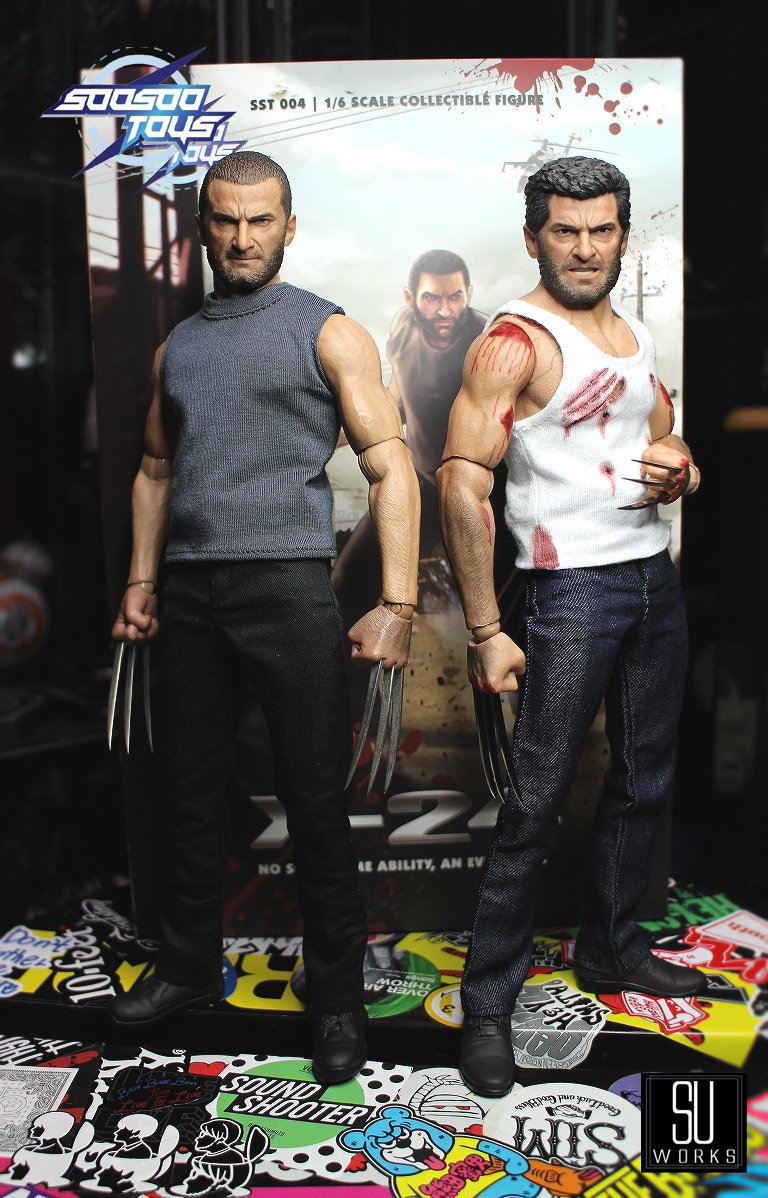 Not Hot Toys Soosootoys X24 clone 1//6 scale