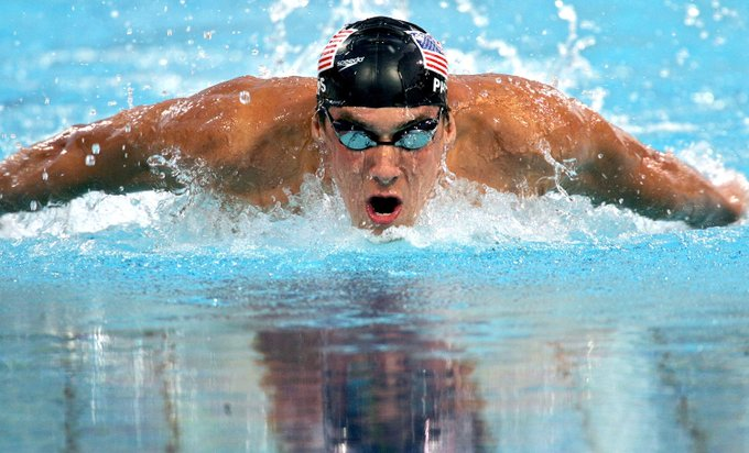 Happy 34th Birthday to the most decorated Olympian of all time, American Swimmer Michael Phelps.