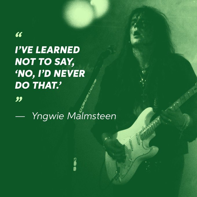 Happy Birthday to the iconic Yngwie Malmsteen!