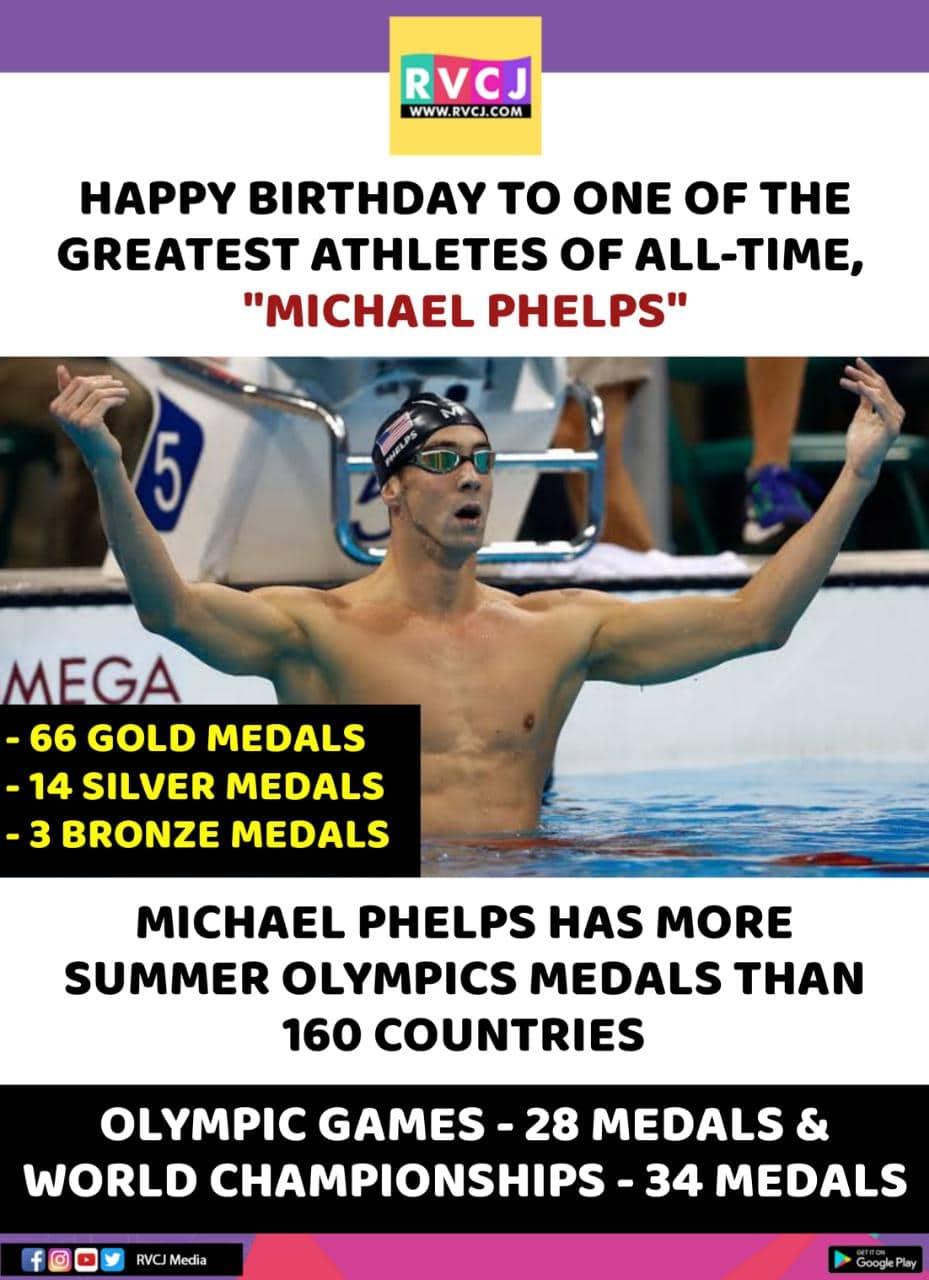 Happy Birthday GOAT Michael Phelps!