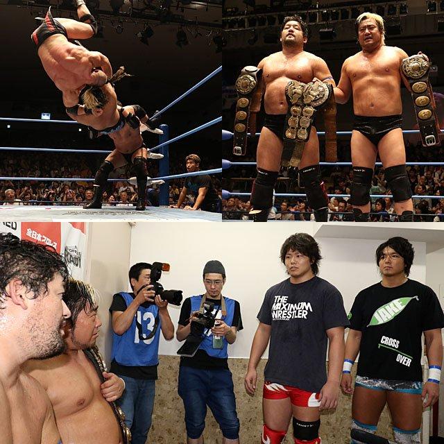"AJPW: ""Dynamite Series 2019"" Kento Miyahara defiende cinturón 5"
