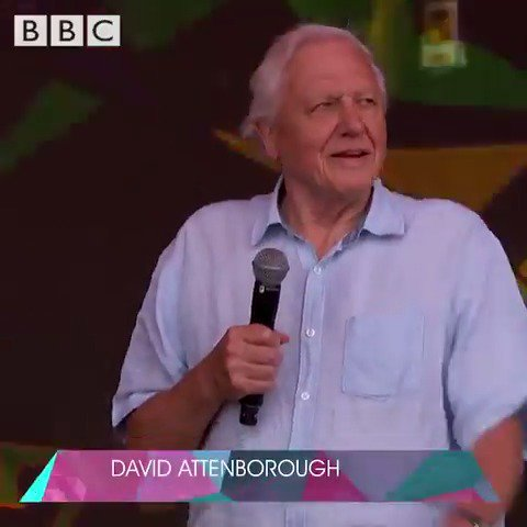Happy birthday to #DavidAttenborough. 🎂 🦥 🐋 🥳 Remember that time, way back in 2019, when he appeared on the Pyramid stage @glastonbury?