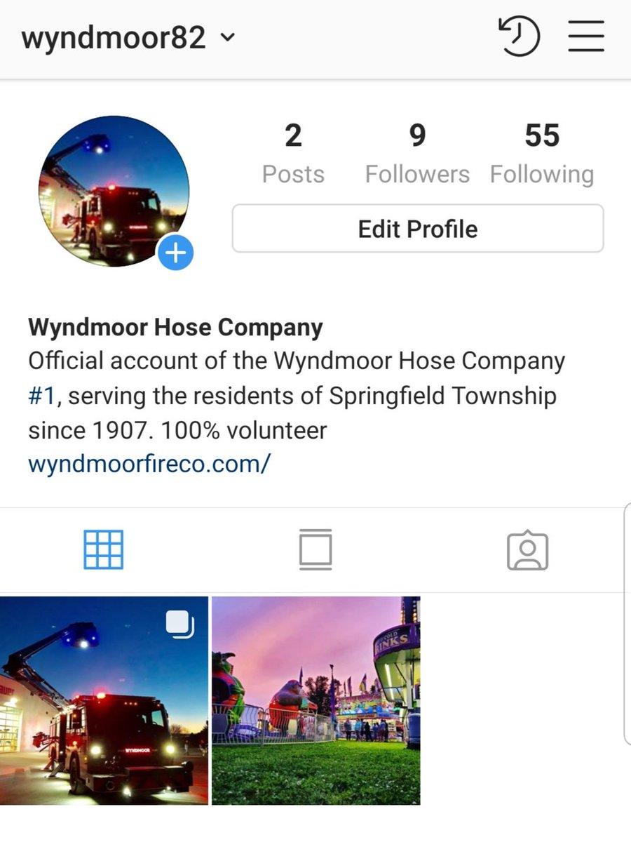 Wyndmoor Hose Co  #1 (@Wyndmoor82) | Twitter