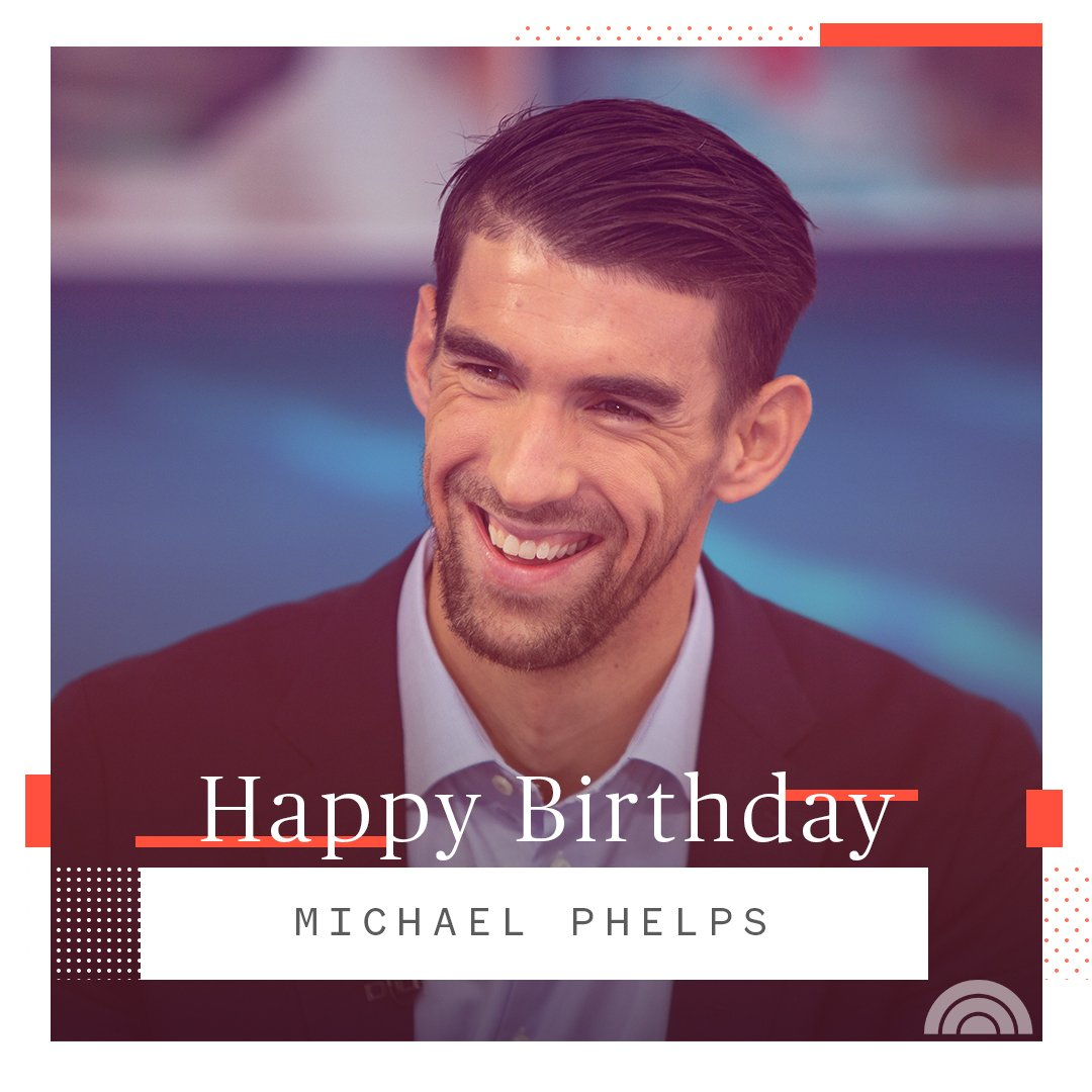 Happy birthday to the most decorated Olympian of all time, Michael Phelps!