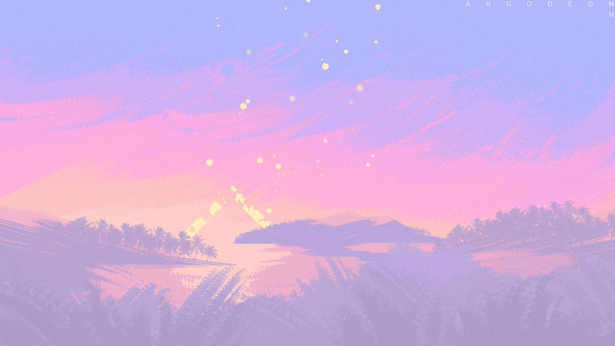 Argodeon Commissions Are Closed On Twitter Pretty Aesthetic Pastel Landscape Paintings