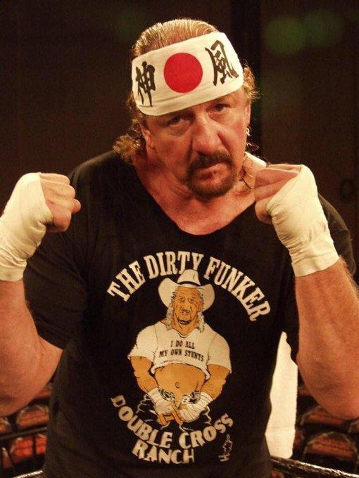 Happy 75th birthday to WWE HOF Terry Funk
