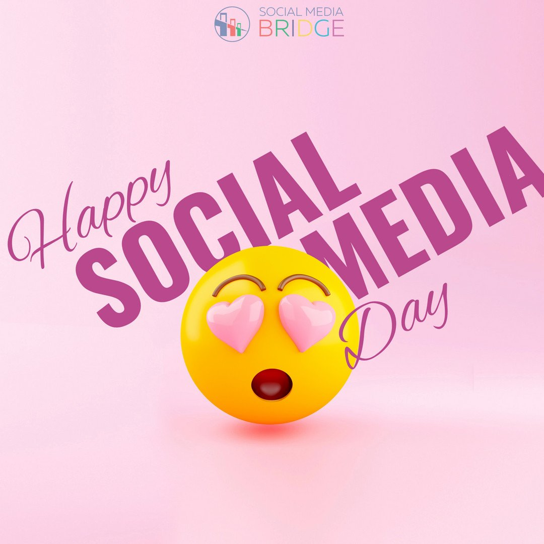 It's World Social Media Day - the day for celebrating all the great relationships you have built on Facebook, Instagram, Twitter, and more.  #WSMD2019 #WorldSocialMediaDay #SocialMediaBridge https://t.co/uvdAQAlDc7