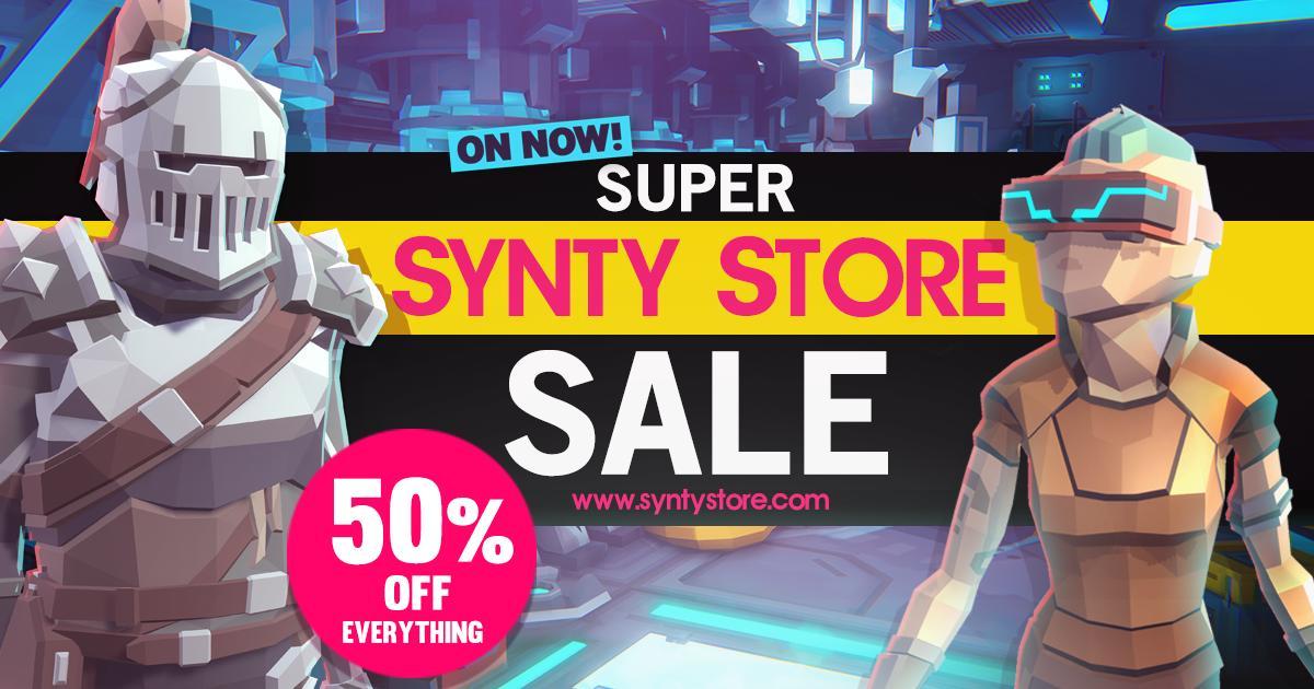 SyntyStudios on Twitter: