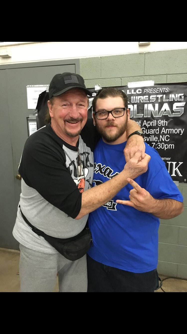 Happy Birthday to this legend, Terry Funk!