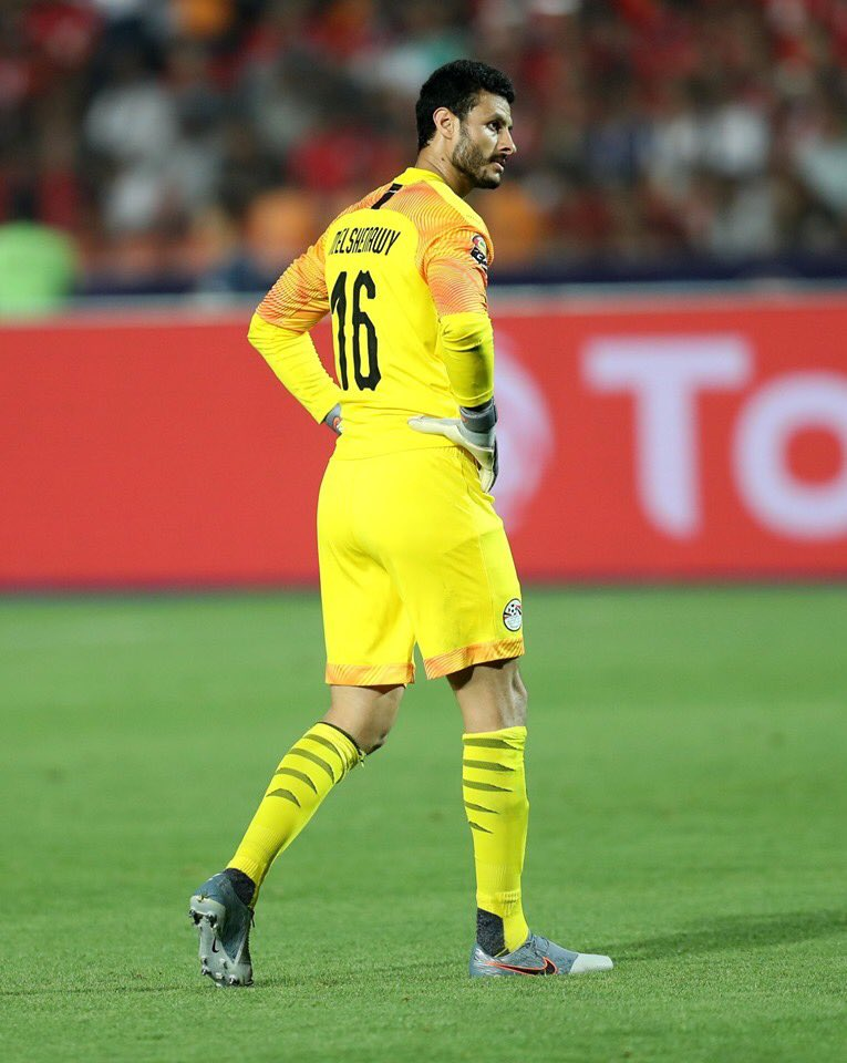 9 pts and 3 Clean Sheets out of 3 group stage games for the first time in the history of the Egyptian national team. #ShenawyOnFire #TotalAFCON2019 #CAN2019EGYPT <br>http://pic.twitter.com/lv9dhaq5ZC