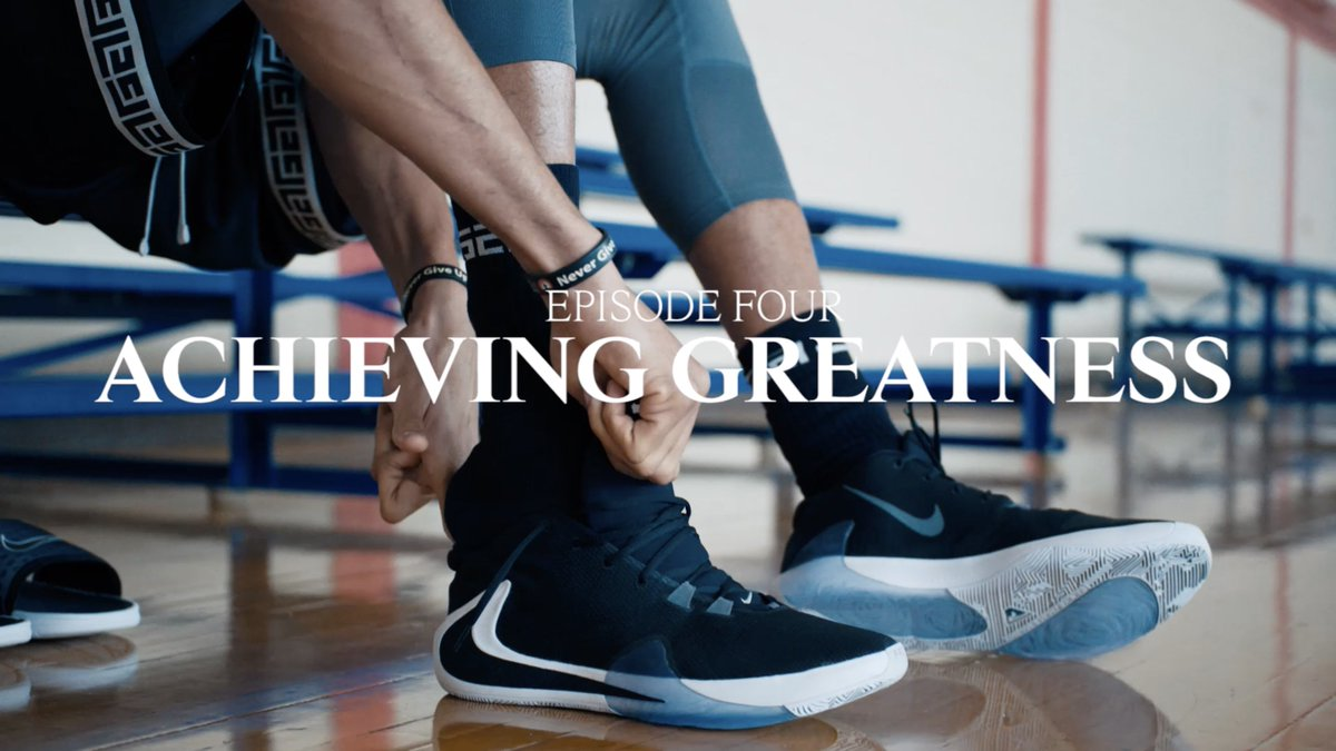 I Am Giannis Ep. 4: Achieving Greatness  Outwork everyone.  Watch @Giannis_An34's full journey: https://youtu.be/izfoUi1p0hc  #zoomfreak1 #giannis #nike