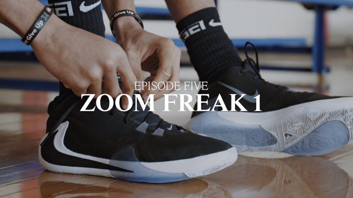 I Am Giannis Ep. 5: Zoom Freak 1  Signature shoe.  Watch @Giannis_An34's full journey: https://youtu.be/H6-NoTE1YXE  #zoomfreak1 #giannis #nike