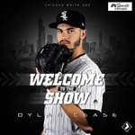 Image for the Tweet beginning: #wcr #WhiteSox  Dylan Cease