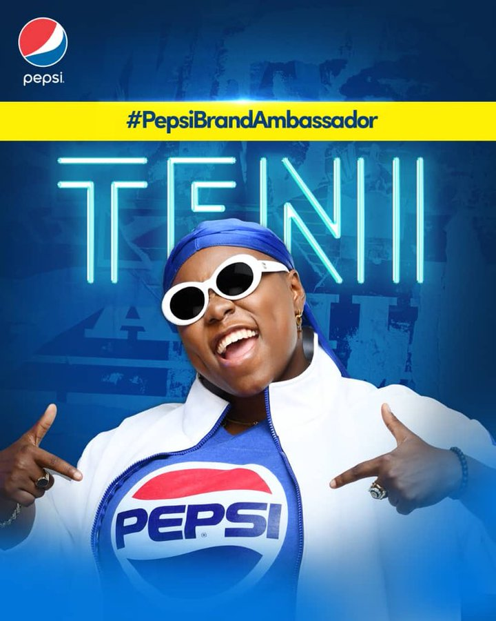 Image result for teni pepsi deal