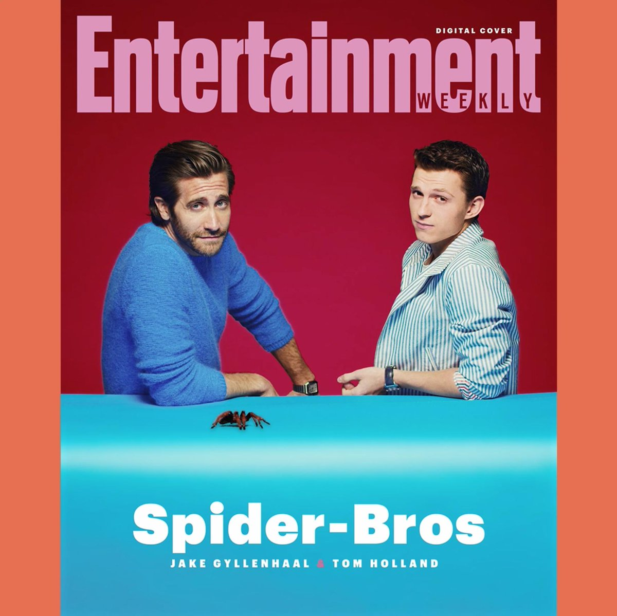 4866b3d26 @TomHolland1996 and Jake Gyllenhaal's #SpiderManFarFromHome bromance takes  center stage on our first ever digital cover: https://t.co/5eCxDPhpri Story  by ...