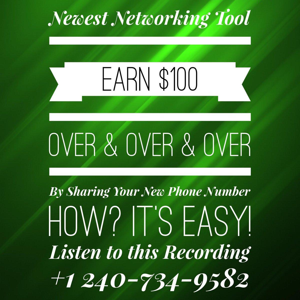 #earnmoney #newphonesystem #hotmarketingtool #workfromphone #reidualincomepic.twitter.com/ZTreMDsANA