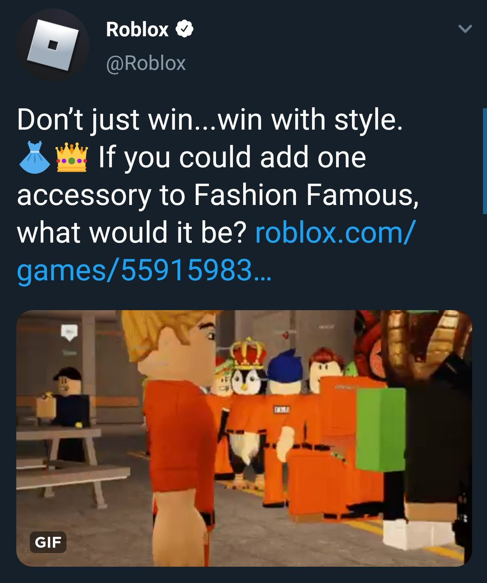 On Roblox Help Me Play Fashion Famous Lord Cowcow On Twitter I M Really Enjoying The New Fashion Famous Prison Update