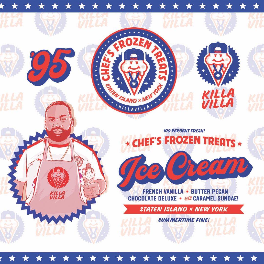 Summertime fine. @Killa_Villa_ dropped some more heat with this Ice Cream collection. Check it out now. theculturedivision.com/killa-villa-x-…