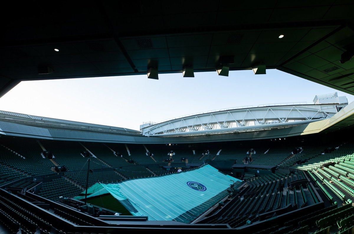 Tomorrow, we play. Here goes No.9 #wimbledon #JoinTheStory <br>http://pic.twitter.com/XrlS21Yuby