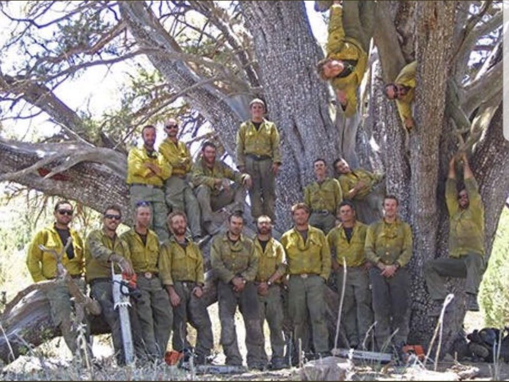 GRANITE MOUNTAIN HOTSHOTS PLAQUE ONLY THE BRAVE FIREFIGHTING FIREMEN FIRE
