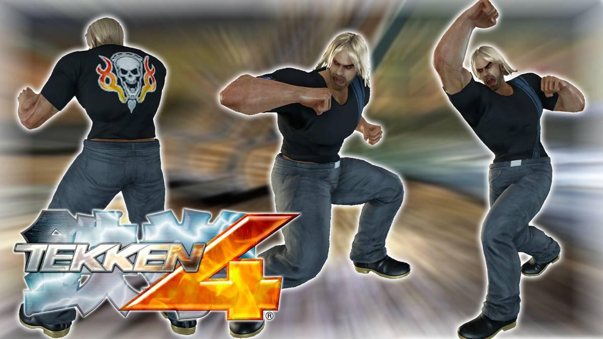 Wonkey On Twitter Tekken 4 Inspired Paul Phoenix By
