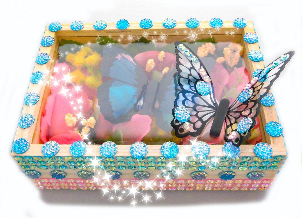 test ツイッターメディア - ☆手づくり体験教室のご案内☆ 蝶とお花のキラキラBOXが作れる #体験教室 開催♪ 初心者さんも大歓迎! お申し込みは開催店舗までお願いします☆ 日にち:7月7日(日) 会場:パルコひばりヶ丘店 地図→https://t.co/RWSYgD1hBj  #キャンドゥ #100均 #ワークショップ #ハンドクラフト https://t.co/DGHPY5Zfdx