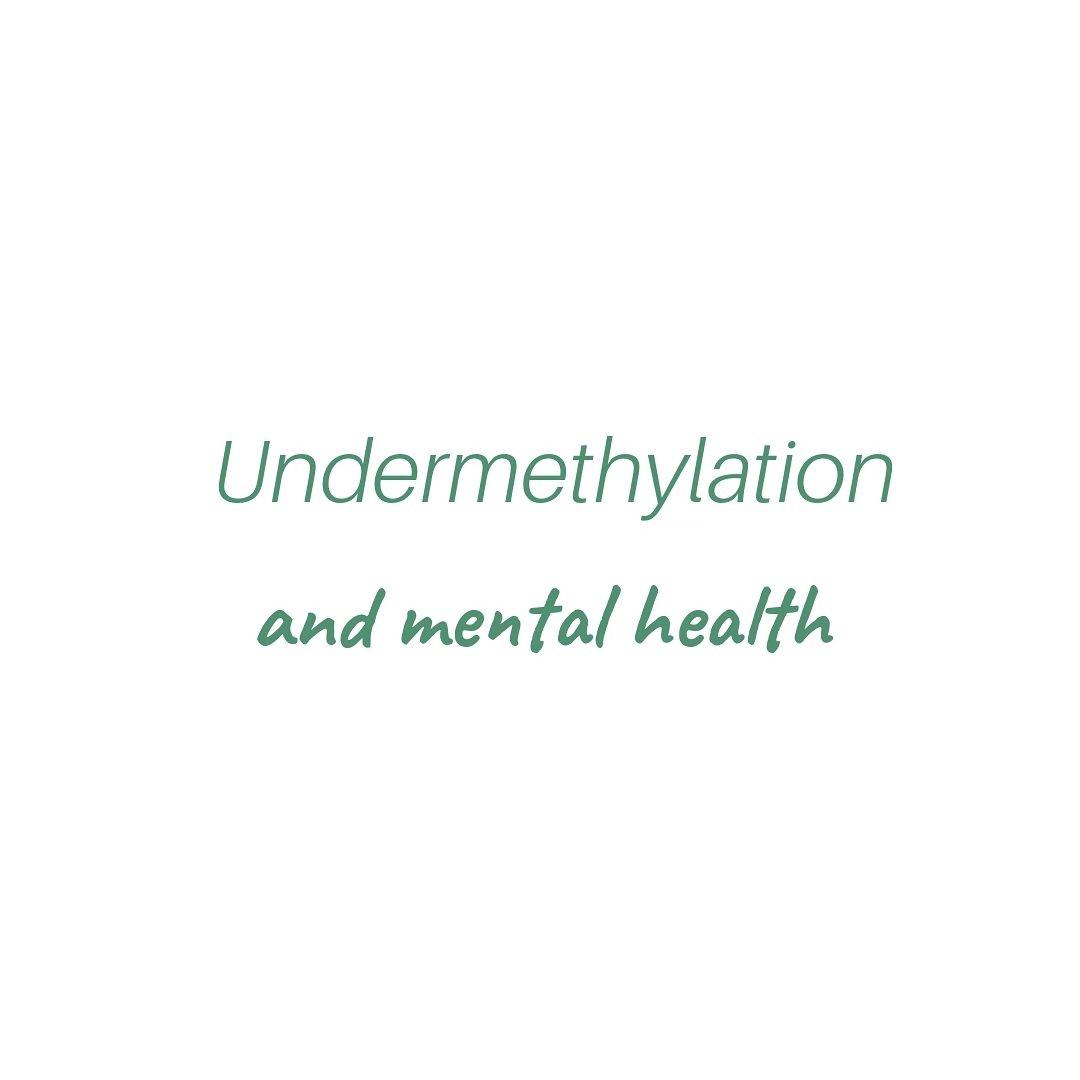 undermethylation hashtag on Twitter