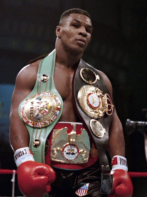 Happy 53rd birthday to \The Baddest Man on the Planet\ Mike Tyson.