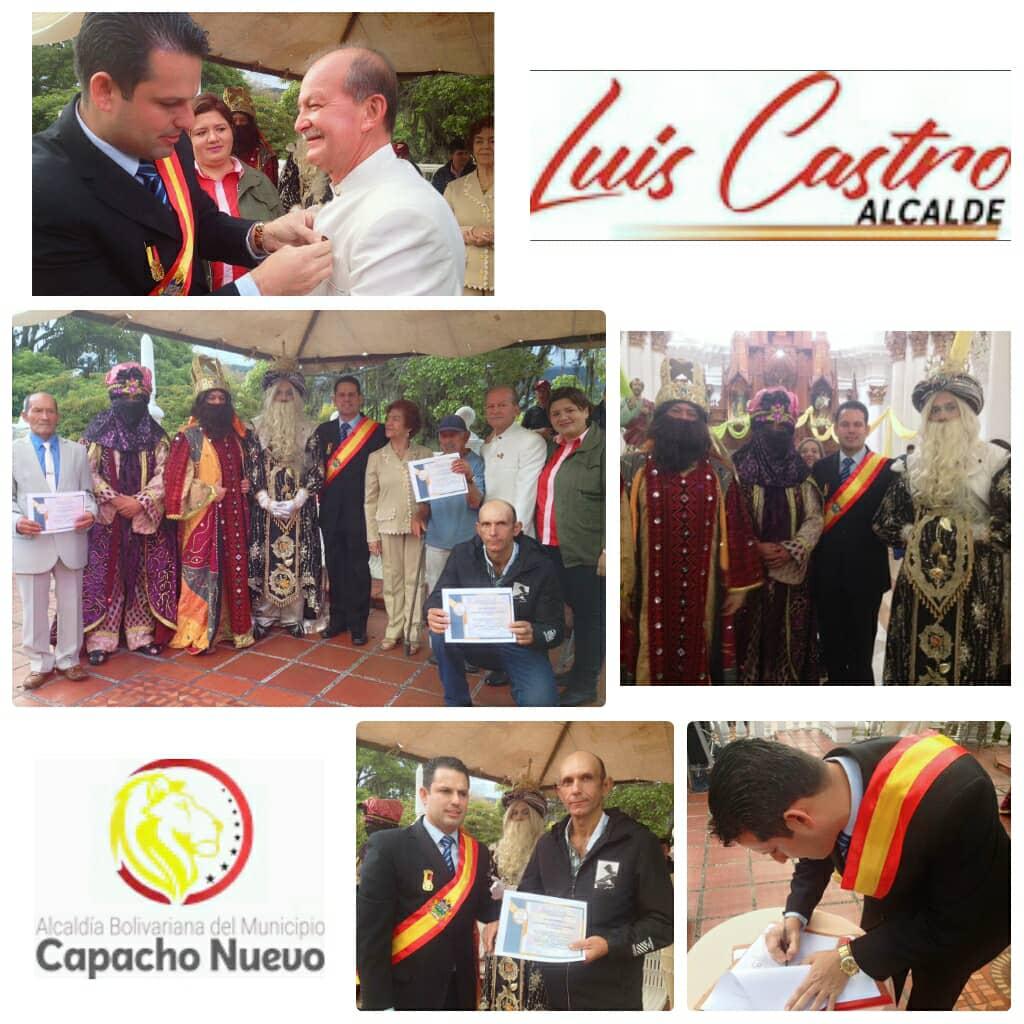 #Tachira   Autoridades entregan decreto de patrimonio Historico y cultural a los #ReyesMagos del mcpio #CapachoNuevo   #ProteccionSocialGarantizada