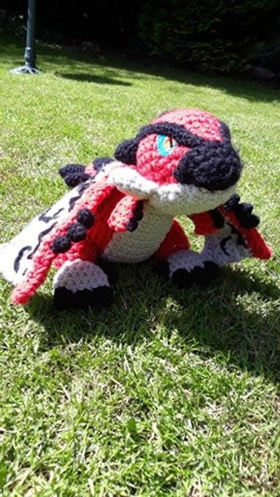Rathalos Crochet Pattern / Monster Hunter / World / huge /   Etsy   1010x570