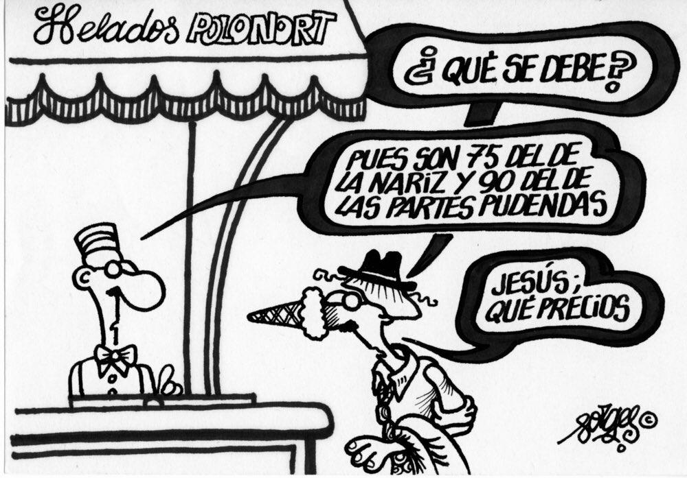 Viñeta publicada en 1983, en Diario 16