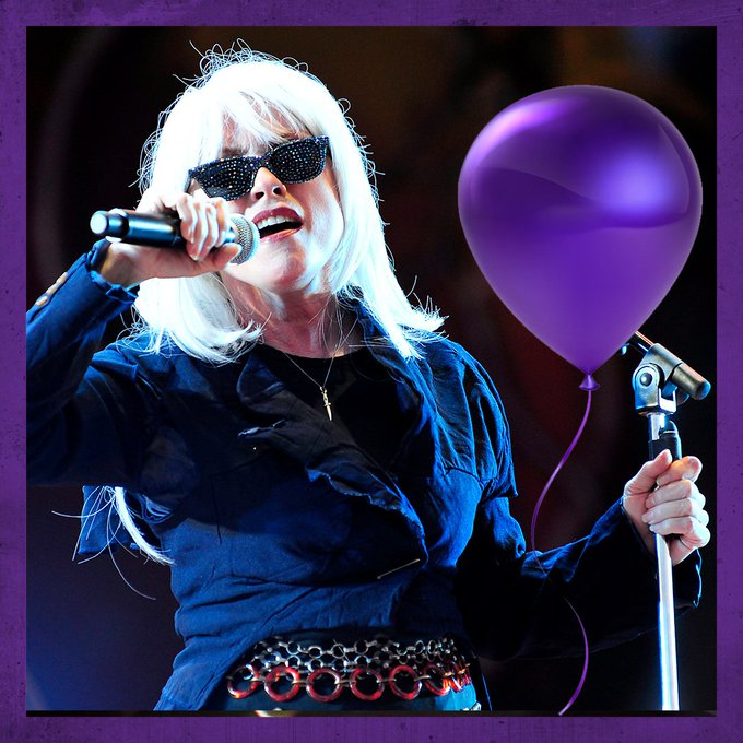 Happy birthday to Blondie frontwoman Debbie Harry! What\s your favourite Blondie song?