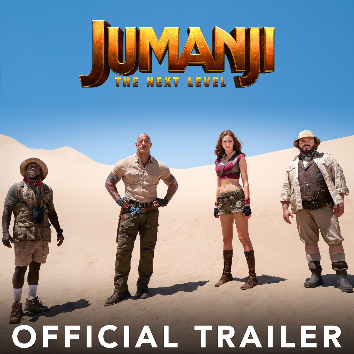 The game is back...but it's busted and everything you THINK you know about Jumanji...well, you don't. #JumanjiTheNextLevel #newmanji