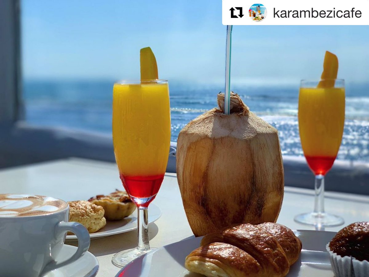 Good mornings begin like...😍💙💛 ❤️ Karibu everyone..✨ #BreakfastViews #KC #seacliffhoteldar https://t.co/Az4c5hbLHh