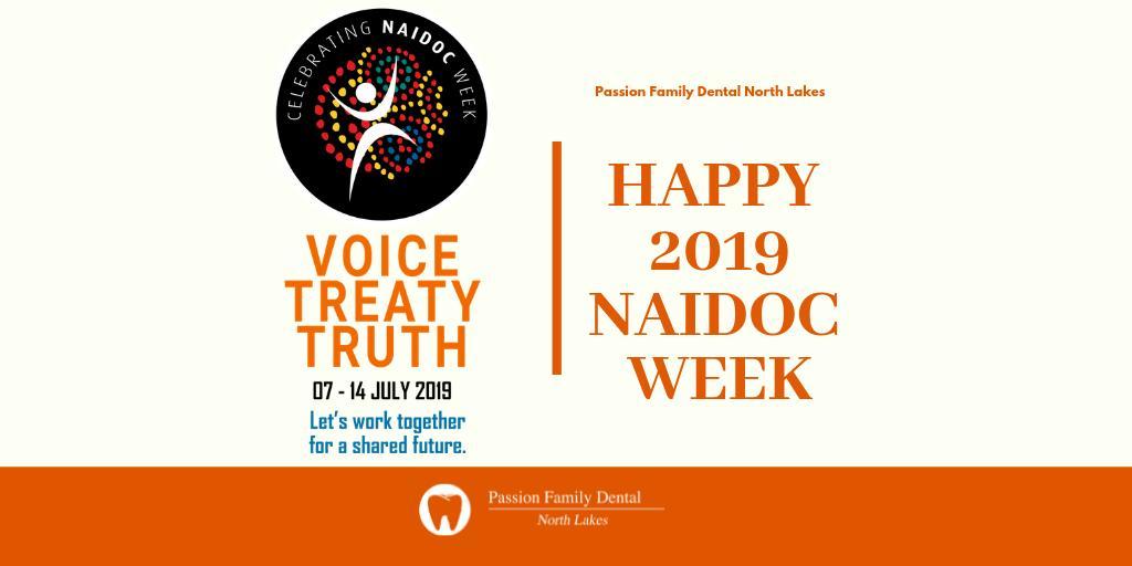 Happy 2019 National NAIDOC Week!  #NAIDOC2019 #HappyNAIDOCWeek #Voice #Treaty  #Truth #DentistNorthLakes #BrisbaneDentist pic.twitter.com/kiwmqQ743b