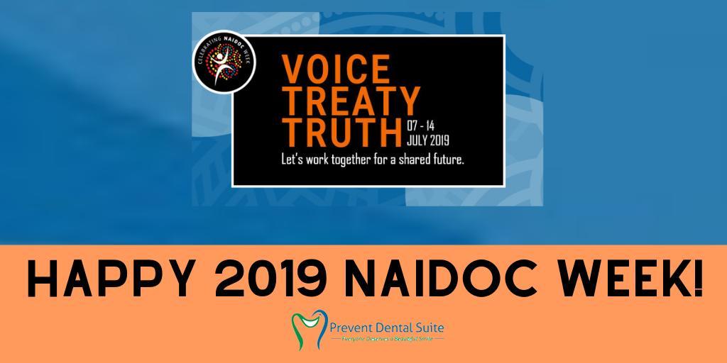 Happy 2019 National NAIDOC Week!  #NAIDOC2019 #HappyNAIDOCWeek #Voice #Treaty  #Truth #DentistKallangur #BrisbaneDentist pic.twitter.com/PZ1OfwZgOH