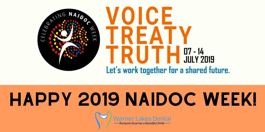 Happy 2019 National NAIDOC Week!  #NAIDOC2019#HappyNAIDOCWeek#Voice#Treaty #Truth#DentistWarner#BrisbaneDentist pic.twitter.com/e8RPV3AsmF