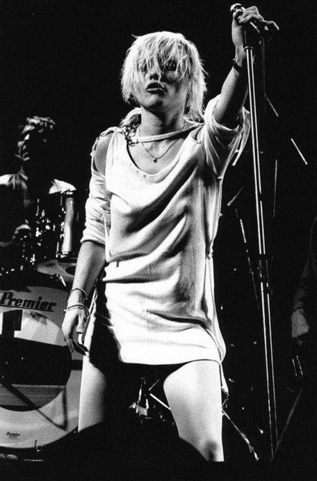 Happy birthday to Debbie Harry, 74 today.