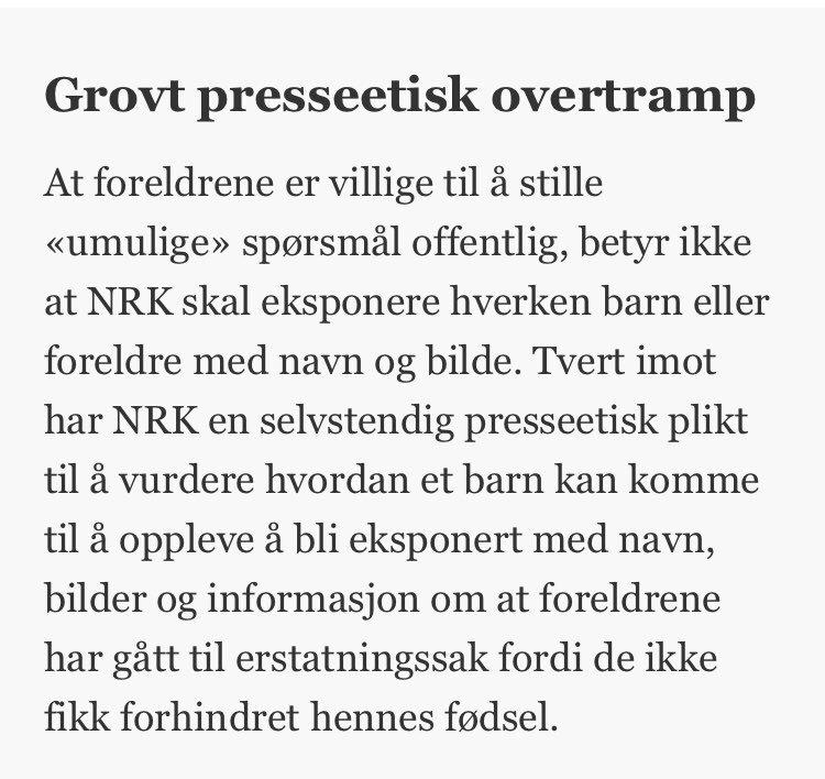 a113683c ... /NRKs-sak-om-firearingen-representerer-et-grovt-presseetisk-overtramp- Derfor-klager-jeg-den-inn-for-PFU--Ann-Magrit-Austena  …pic.twitter.com/u6yHOoZaMV