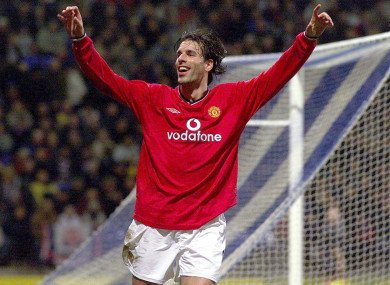 Happy 43rd Birthday to United legend Ruud van nistelrooy.