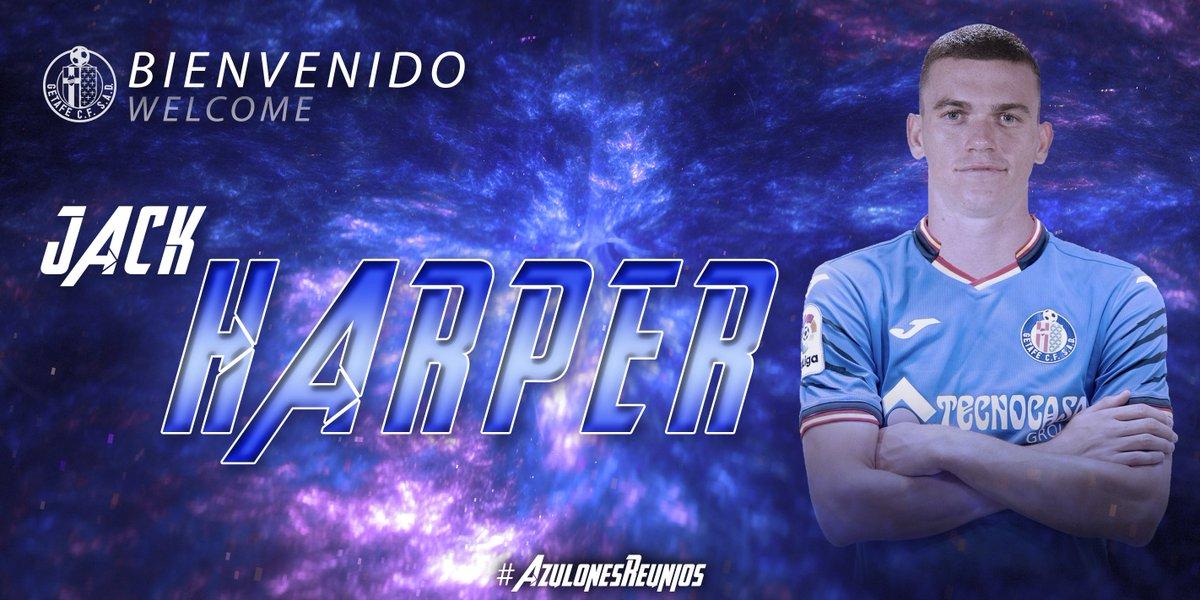 D-YHI9qX4AAsG8n Jack Harper, nuevo jugador del Getafe - Comunio-Biwenger