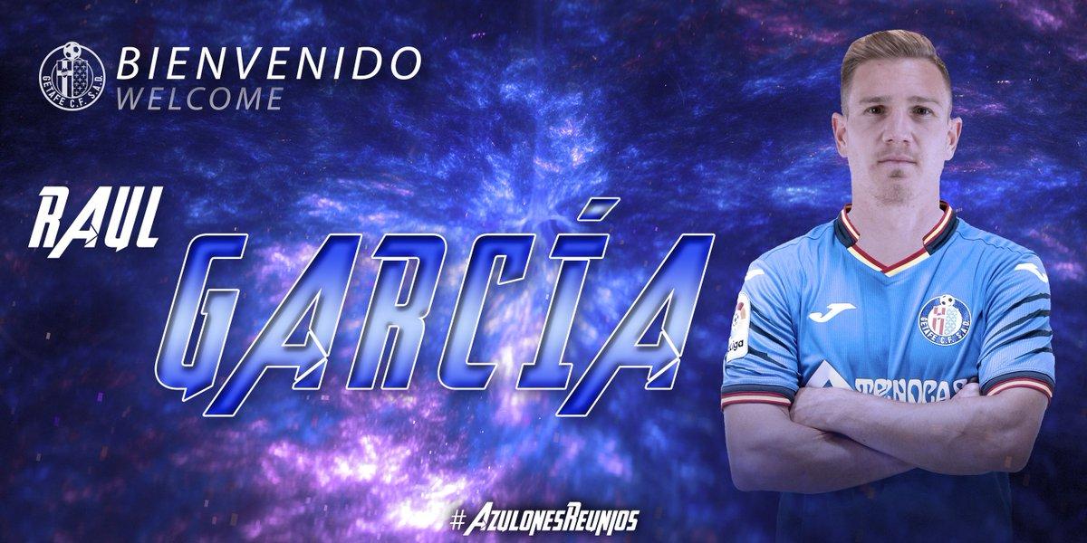 D-YHsC8XkAAqO9p Raúl García Carnero ya es jugador del Getafe - Comunio-Biwenger