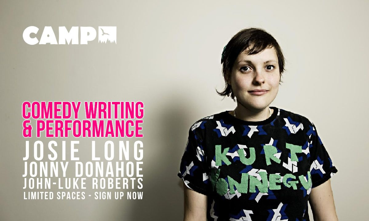 What's funny about you, specifically? Push your #comedy #writing and #performance forward at our 5-day workshop in the beautiful French Pyrenees with @JosieLong, @JonnyDonahoe and @jlukeroberts http://campfr.com/comedy #worshop #france #pyreneespic.twitter.com/zC5PjEJOkW